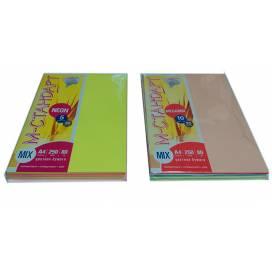 Бумага цв  А4/80 MIX 250л M-стандарт NEON 5цветов