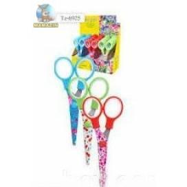 Ножницы детские Tukzar 6925 13см цвет: ассорти, материал: сталь, безопасные лезвия