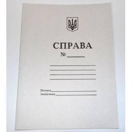 """Папка картон А4 без усов """"дело"""""""