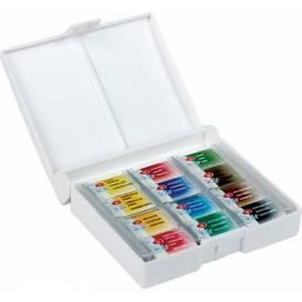 Набор акварельных красок ЗХК Белые Ночи 12 цв пластик ШК....0704