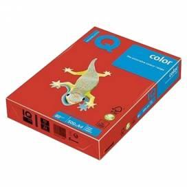 Бумага цв А4/160 IQ intensiv CO44 Coral Red красный