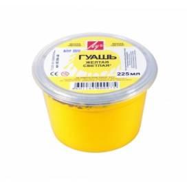 Гуашь Луч 225мл Желтая светлая