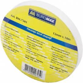Скотч двухсторонний Buromax 12мм х 10м BM.7501 в инд. упаковке (еврозавес)