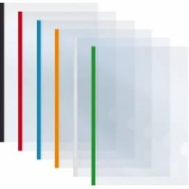 Папка Ecomomix зажим пластиковая планка формат А5 65л E31261