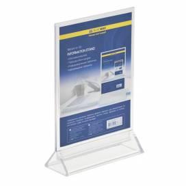 Табличка информационная Buromax прозрачная 150*200мм BM6414