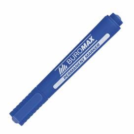 Маркер перм. Buromax BM.8700 круглый 2-4mm синий