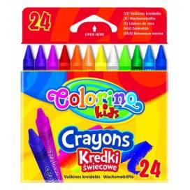 Цветные карандаши восковой Colorino 24цв 13895PTR