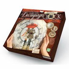 Набор для дет. творч. Danko Toys Decoupage Clock DKC-01-06