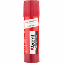 Клей карандаш Axent PVP 35гр 7114-A