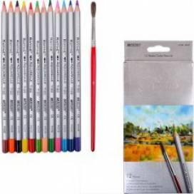 Цветные карандаши для рисования Marco 12цв. 7120-12CB Raffine акварель