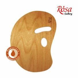 Палитра деревянная Rosa овальная 30*40 см Модерн зргоном промасл