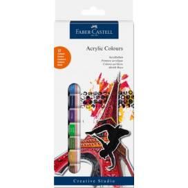 Набор фарб акрилових Faber Castell 12 кольорів 12мл 169501