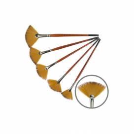 Кисть Kolos синтетика веерная Carrot 1097FN № 4