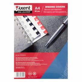Обложка Axent A4 картон 250 мкм 2730-02-А под кожу синяя 1лист