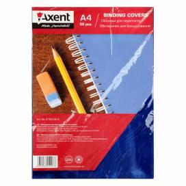 Обложка Axent A4 пластик 180 мкм 2720-02-А прозрачная синяя 1лист
