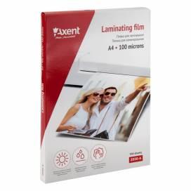 Пленка для ламинир. Axent формат А4 100 мкм 100шт 2030-A