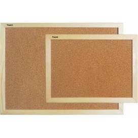 Доска Axent пробковая A-9601 45х60 см деревянная рамка