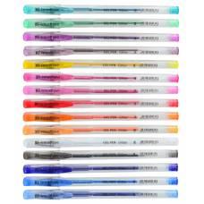 """Ручка YES гель 411708 """"Glitter"""" микс цветов в тубе"""