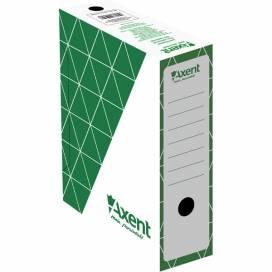 Папка Axent бокс архивный 1732-04 A 100мм, зеленый