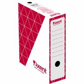 Папка Axent бокс архивный 1732-06-A 100мм, красный