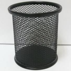Подставка для ручек Josef метал кругл сетка 1936/1082 чёрная 9х 9,5см ШК....8083/6059
