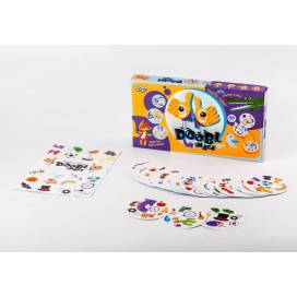 Игра Danko Toys Doobl Image найди пару картинке DBL-01-03 рус КВАДРАТНАЯ (настольная развивающая)