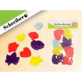 Паралоновый валик Schreiber S-1732 Животные 8 шт
