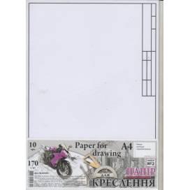 Бумага для черчения TM Графика формат А4 РАМКА №2 10л. 170г/м ПК4410ГЕ