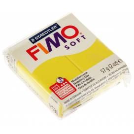 Глина полимерная FIMO Soft 57г 8020-10 лимонный