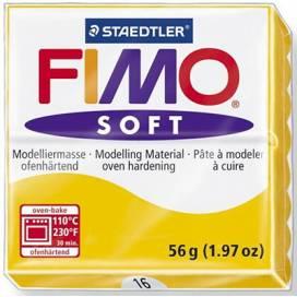 Глина полимерная FIMO Soft 57г 8020-16 желтый