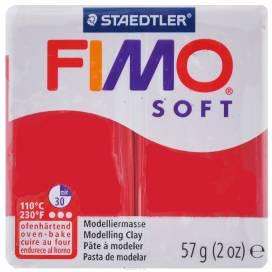 Глина полимерная FIMO Soft 57г 8020-26 вишневый