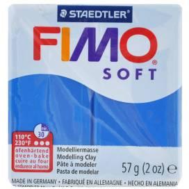 Глина полимерная FIMO Soft 57г 8020-37 синий