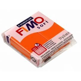 Глина полимерная FIMO Soft 57г 8020-42 оранжевый