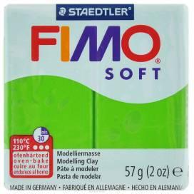 Глина полимерная FIMO Soft 57г 8020-50 зеленое яблоко