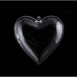 Заготовка пластик Santi 740886 Сердце 8см 1шт