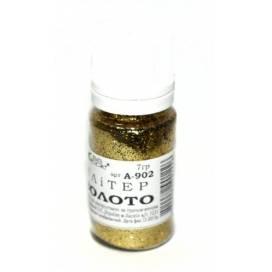 Блёстки (глитер) ТМ Атлас А-902 7гр золото