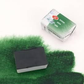 Краска акварельная, Белые Ночи, 2,5мл, кювета, Зеленая