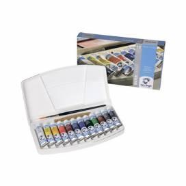 Набор акварельных красок Royal Talens VAN GOGH 12*10мл + кисть пластик