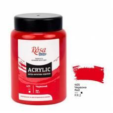 Фарба акрилова Rosa Studio 400мл 405 червона