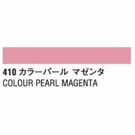 Краска акриловая для живописи и декора гуашь Turner 20мл  перламутр цвет 410-B Маджента