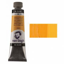 Краска масляная RT VAN GOGH, 40мл, 210 Кадмий желтый темный