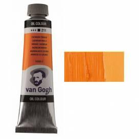 Краска масляная RT VAN GOGH, 40мл, 211 Кадмий оранжевый