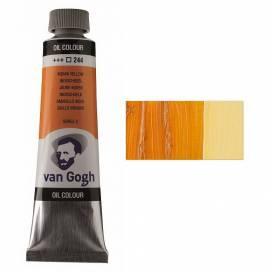 Краска масляная RT VAN GOGH, 40мл, 244 Индийская желтая