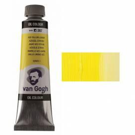 Краска масляная RT VAN GOGH, 40мл, 267 Желтая лимонная (AZO)