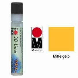 Контур Marabu 25мл объёмный 621 жёлтый средний