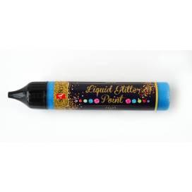Контур Santi 3D-гель glitter gel 741222 синий