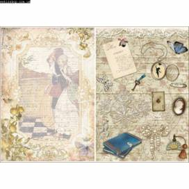Бумага для декупажа Cheap-Art 30,8*44см 45г/м2 Любовное письмо