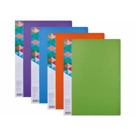 Папка Optima А4 на  10 файлов Двухцветная O32117