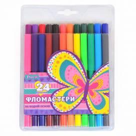 Фломастеры 1 вересня 24 цв 650332 Bright butterfly