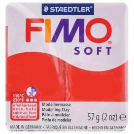 Глина полимерная FIMO Soft 57г 8020-24 индийский красный